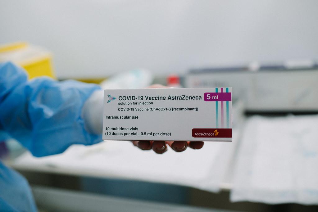 Vacunat amb AstraZeneca