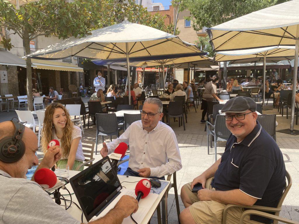 Nuria Conangla, Josep Piferrer i Lluís Poch