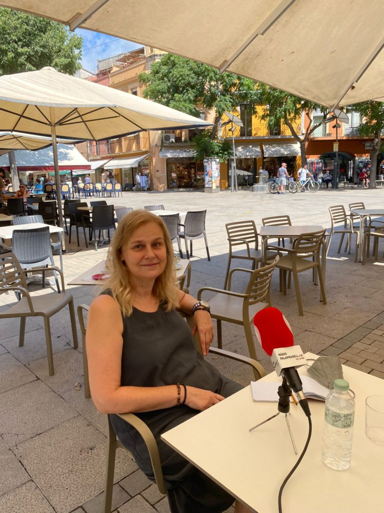 Puri Abarca - L'edat d'or del periodisme a Palafrugell