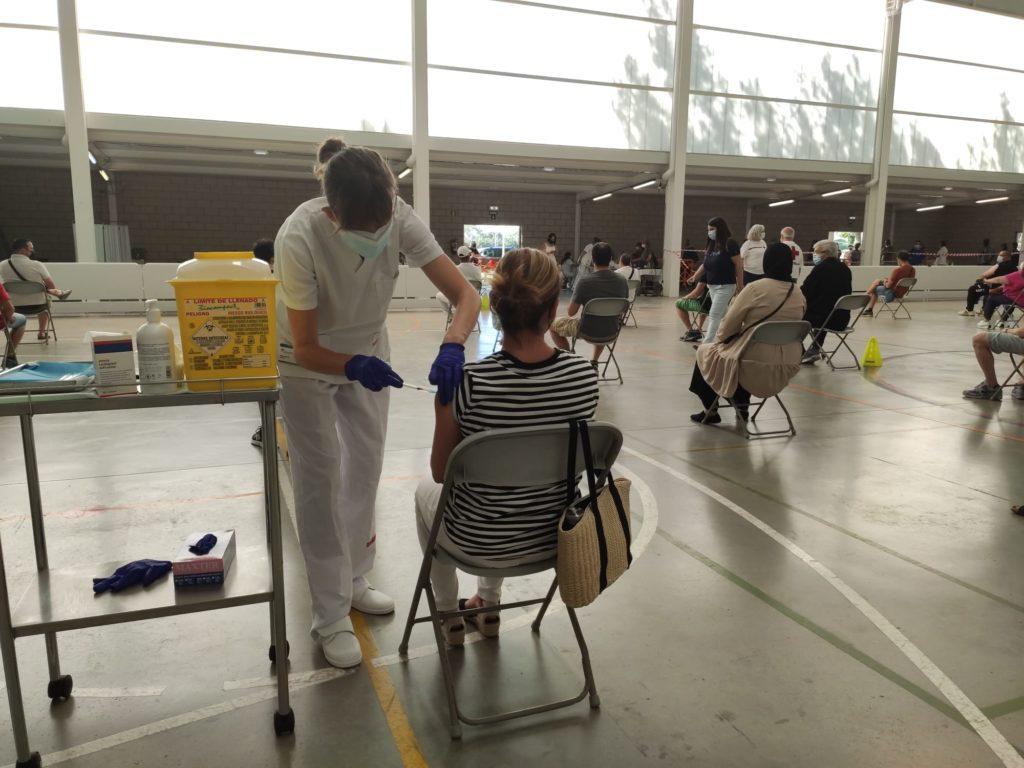 Palafrugell vacuna als majors de 12 anys