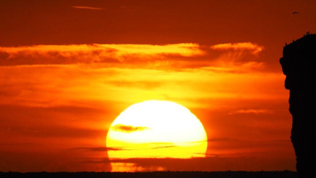 Fotografia de la sortida de sol
